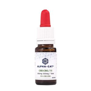 ALPHA CAT – 10ml CBD:CBG Oil 10%